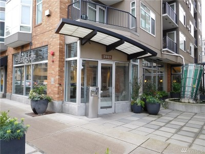 Seattle Condo/Townhouse For Sale: 2801 1st St #805