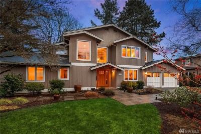 Bellevue Single Family Home For Sale: 10228 SE 16th St
