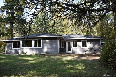 Skagit County Single Family Home For Sale: 17491 Snee Oosh Rd