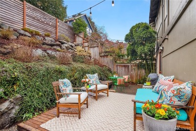 Seattle Single Family Home For Sale: 1823 27th Ave #B