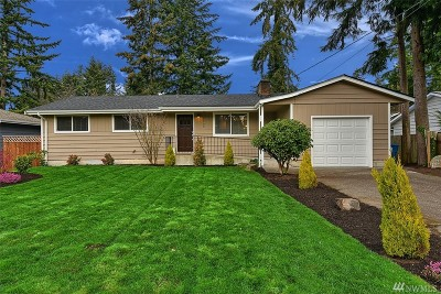 Lynnwood Single Family Home For Sale: 6109 186th St SW