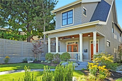 Seattle Single Family Home For Sale: 2215 3rd Ave W