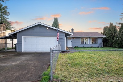 Olympia Single Family Home For Sale: 7531 12th Way NE