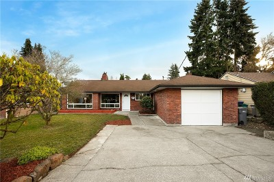Seattle Single Family Home For Sale: 7631 S 112th St