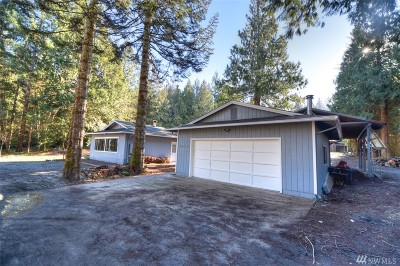 Olympia Single Family Home For Sale: 4014 Steamboat Island Rd NW