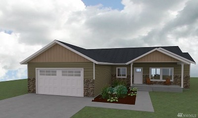 Chelan County Single Family Home For Sale: 9992 Saska Way #Lot24