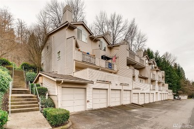 Bothell Condo/Townhouse For Sale: 15809 Waynita Wy NE #G104