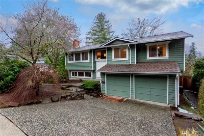King County Single Family Home For Sale: 17704 NE 33rd St