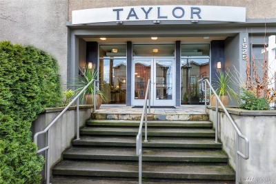 Seattle Condo/Townhouse For Sale: 1525 Taylor Ave N #205