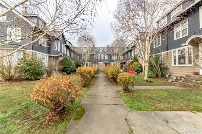 Tacoma Condo/Townhouse For Sale: 1617 Division Ave #8