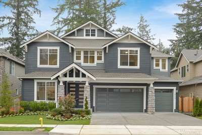 Sammamish Single Family Home For Sale: 2110 215th Place SE