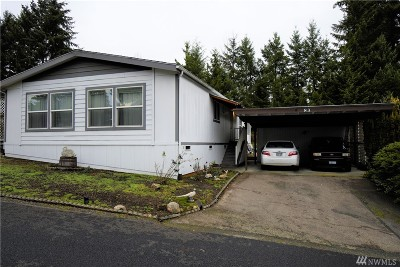 Puyallup Mobile Home For Sale: 9314 Canyon Rd E #83