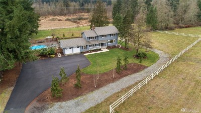 Issaquah Single Family Home For Sale: 16453 Issaquah-Hobart Rd SE
