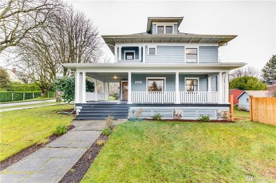 Tacoma Single Family Home For Sale: 1521 N 5th St