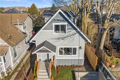 Seattle Single Family Home For Sale: 106 NW 77th St