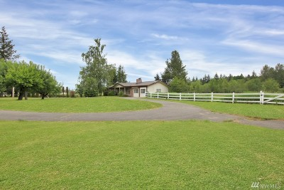 Enumclaw Single Family Home For Sale: 40706 212th Ave SE