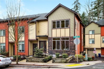 Issaquah Condo/Townhouse For Sale: 2129 NW Talus Dr #66
