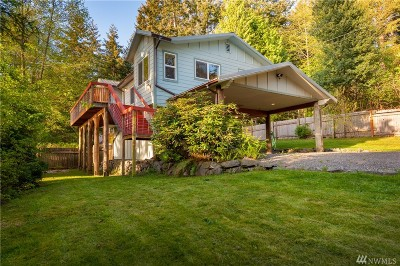 Lummi Island Single Family Home For Sale: 1181 Beach Ave