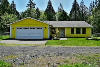 Shelton Single Family Home For Sale: 81 E Wokojance Lane
