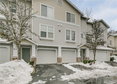 Snohomish Condo/Townhouse For Sale: 14007 69th Dr SE #K3