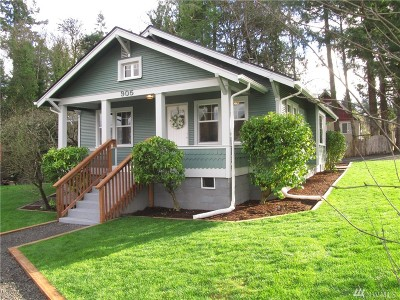 Mason County Single Family Home Sold: 905 Bayview Lp