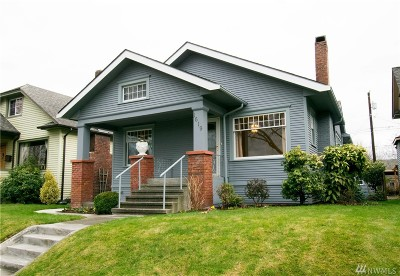 Everett Single Family Home For Sale: 1619 Colby Ave