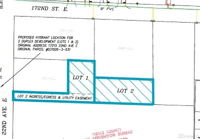 Tacoma Residential Lots & Land For Sale: 17215 22nd Ave E