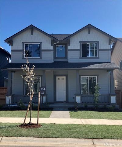 Bonney Lake Single Family Home For Sale: 13139 180th (Lot 104) Ave E