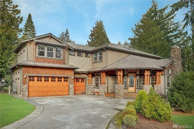 Kirkland Single Family Home For Sale: 8724 NE 134th St