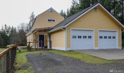 Poulsbo Single Family Home Pending: 1101 Thompson Rd NW