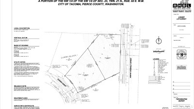 Tacoma Residential Lots & Land For Sale: 4646 N Vassault St