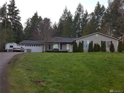 Pierce County Single Family Home For Sale: 2906 NW 180th Ave NW