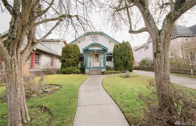 Bellingham Single Family Home Sold: 1434 Humboldt St