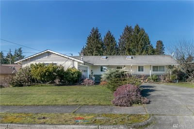 Tacoma Single Family Home For Sale: 6846 S K St