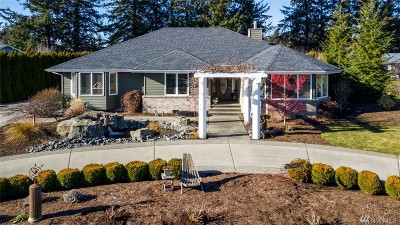 Lynden Single Family Home Pending Inspection: 6883 Golf View Dr
