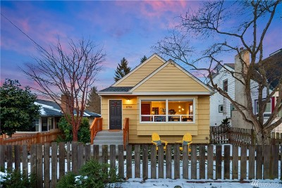 Seattle Single Family Home For Sale: 8706 19th Ave NW
