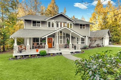 Bainbridge Island Single Family Home Pending: 13516 Chatri Place NE