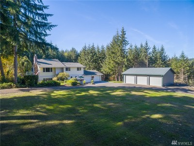 Chehalis Single Family Home For Sale: 144 Parker Rd