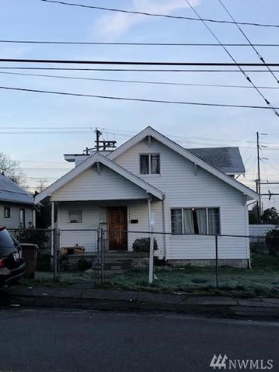 Tacoma Single Family Home For Sale: 1443 E Fairbanks St