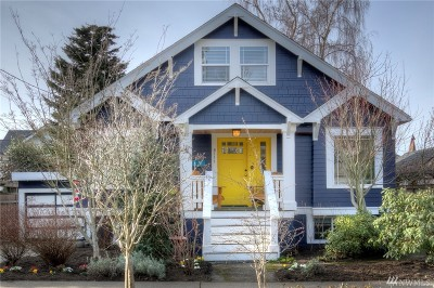 Seattle Single Family Home For Sale: 6111 Greenwood Ave N