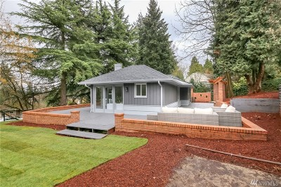 Seattle Single Family Home For Sale: 11007 7th Place S