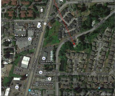 Lynnwood Residential Lots & Land For Sale: 16431 44th Ave W