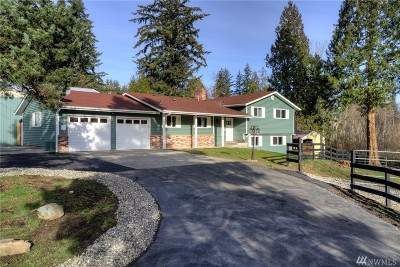 Snohomish Single Family Home For Sale: 7527 Interurban Blvd