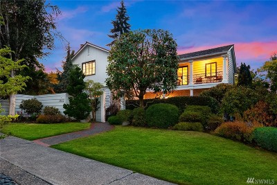 Seattle Single Family Home For Sale: 3822 E Crockett St