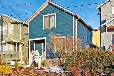 Seattle Single Family Home For Sale: 824 23rd Ave S