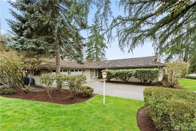 Bellevue WA Single Family Home For Sale: $928,000