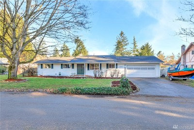Spanaway Single Family Home For Sale: 15213 15th Av Ct S