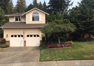 Single Family Home For Sale: 22128 NE 11th Place