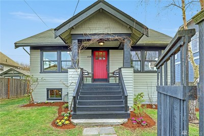 Seattle Single Family Home For Sale: 6538 Division Ave NW