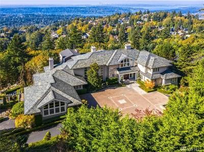 Bellevue WA Single Family Home For Sale: $4,980,000